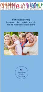 """Flyer: """"Frühsexualisierung – Ursprung, Hintergründe und wie Sie Ihr Kind schützen können!"""""""